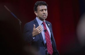 Bobby Jindal, governor of Louisiana, speaks during the Conservative Political Action Conference (CPAC) in National Harbor, Maryland, U.S., on Thursday, Feb. 26, 2015. The 42nd annual CPAC, which runs until Feb. 28, features most of the potential Republican candidates for president, from Ben Carson and Carly Fiorina to Jeb Bush and Scott Walker. (Bloomberg/Bloomberg via Getty Images)