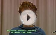 Alice Hooper - Green Party of Canada Kelowna - Lake Country
