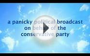 Cameronettes Conservative Party Political Broadcast. David