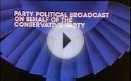 Conservative Party Political Broadcast from 1987 Or is it?