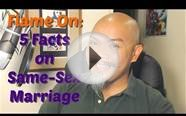 Flame On - 5 Facts on Same-Sex Marriage