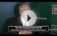 Interview with Andrew Robb on Coalition Economic Policy