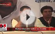 Q: What is your view on black money ? And Rahul Gandhi says